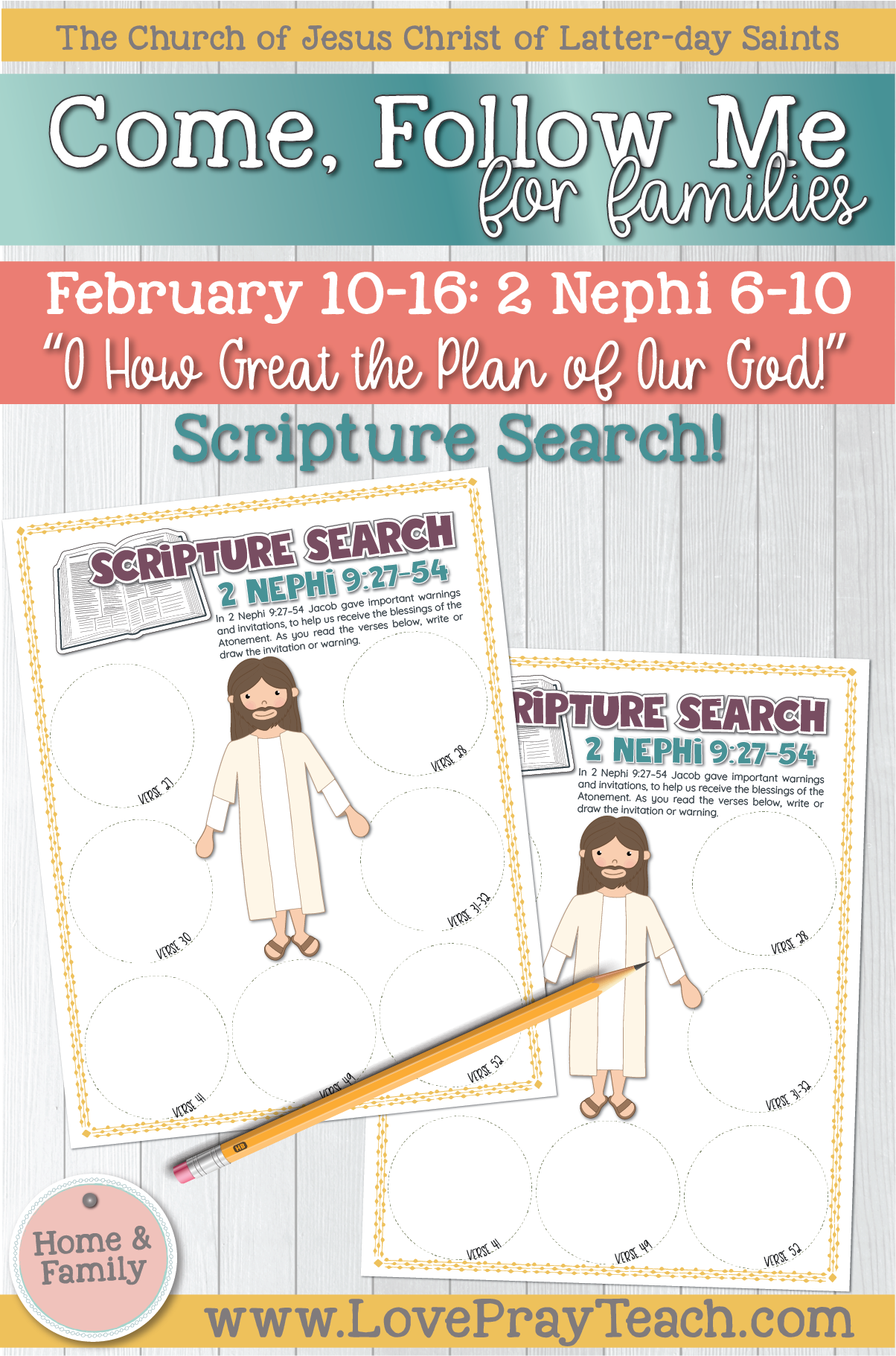 """Come, Follow Me—For Individuals and Families: Book of Mormon 2020 February Week 3: February 10–16 2 Nephi 6–10 """"O How Great the Plan of Our God!"""""""