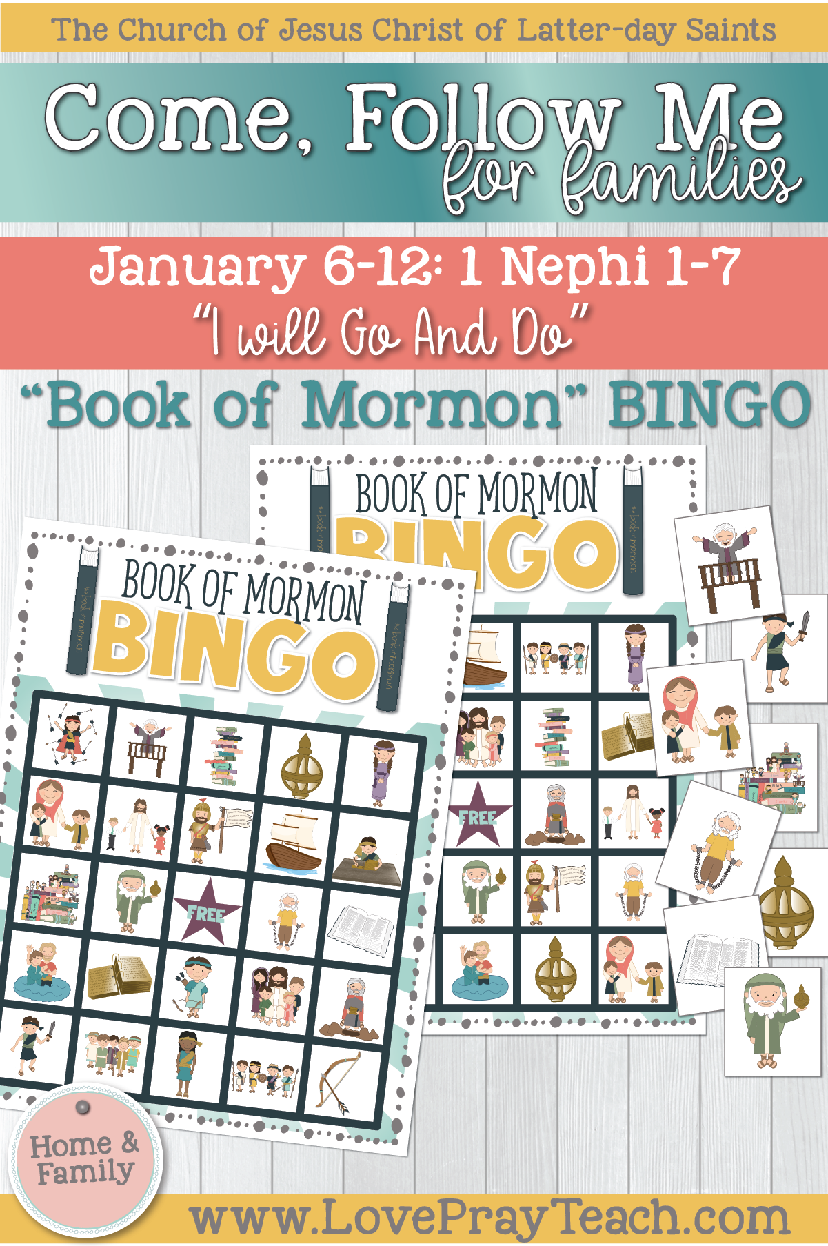 "Come, Follow Me—For Individuals and Families: Book of Mormon 2020 January Week 2: January 6-12 1 Nephi 1–7 ""I Will Go and Do"""