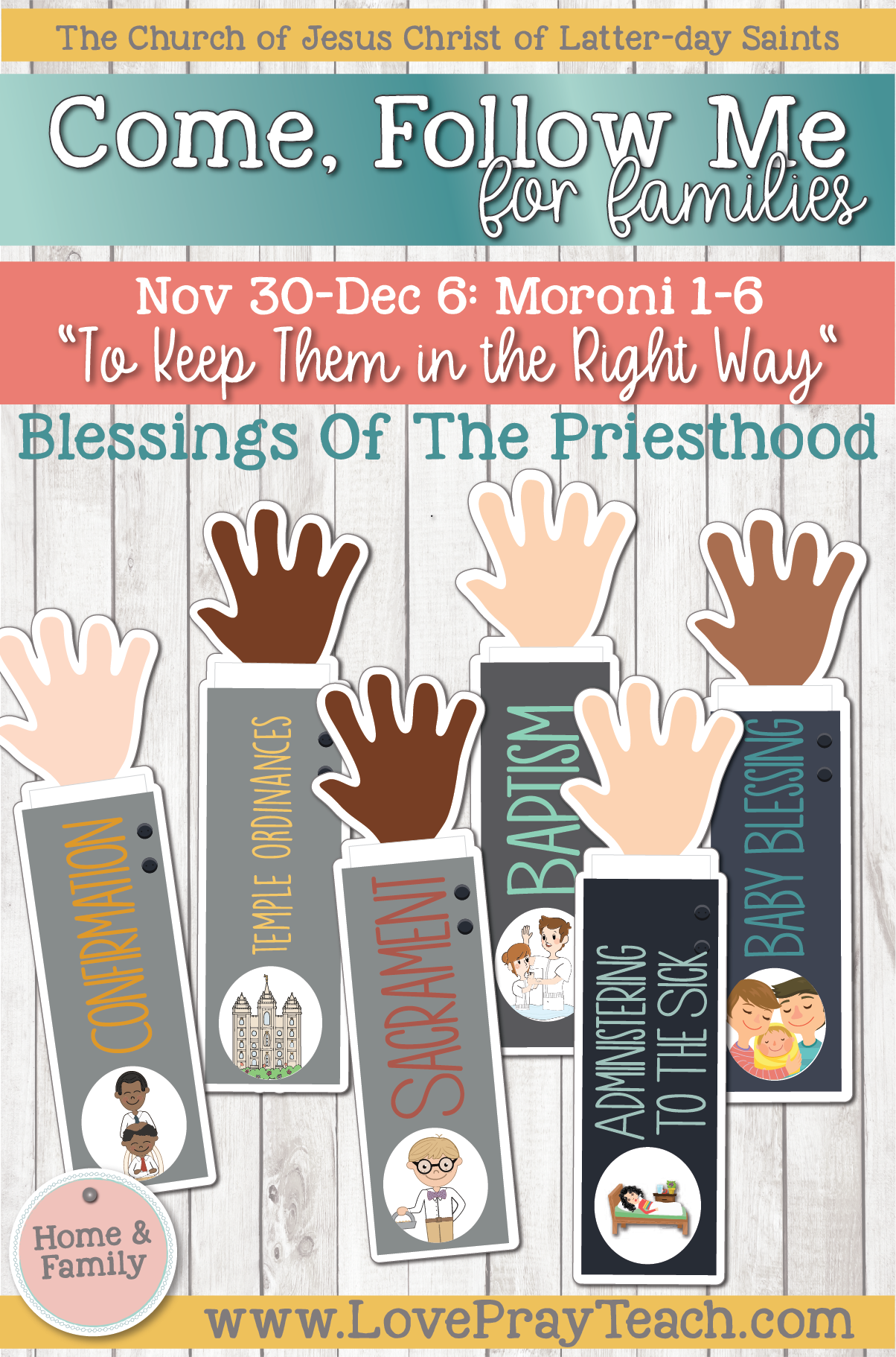 """Come, Follow Me—For Individuals and Families: Book of Mormon 2020 -December Week 1-November 30-December 6, Moroni 1-6 """"To Keep Them in the Right Way"""""""