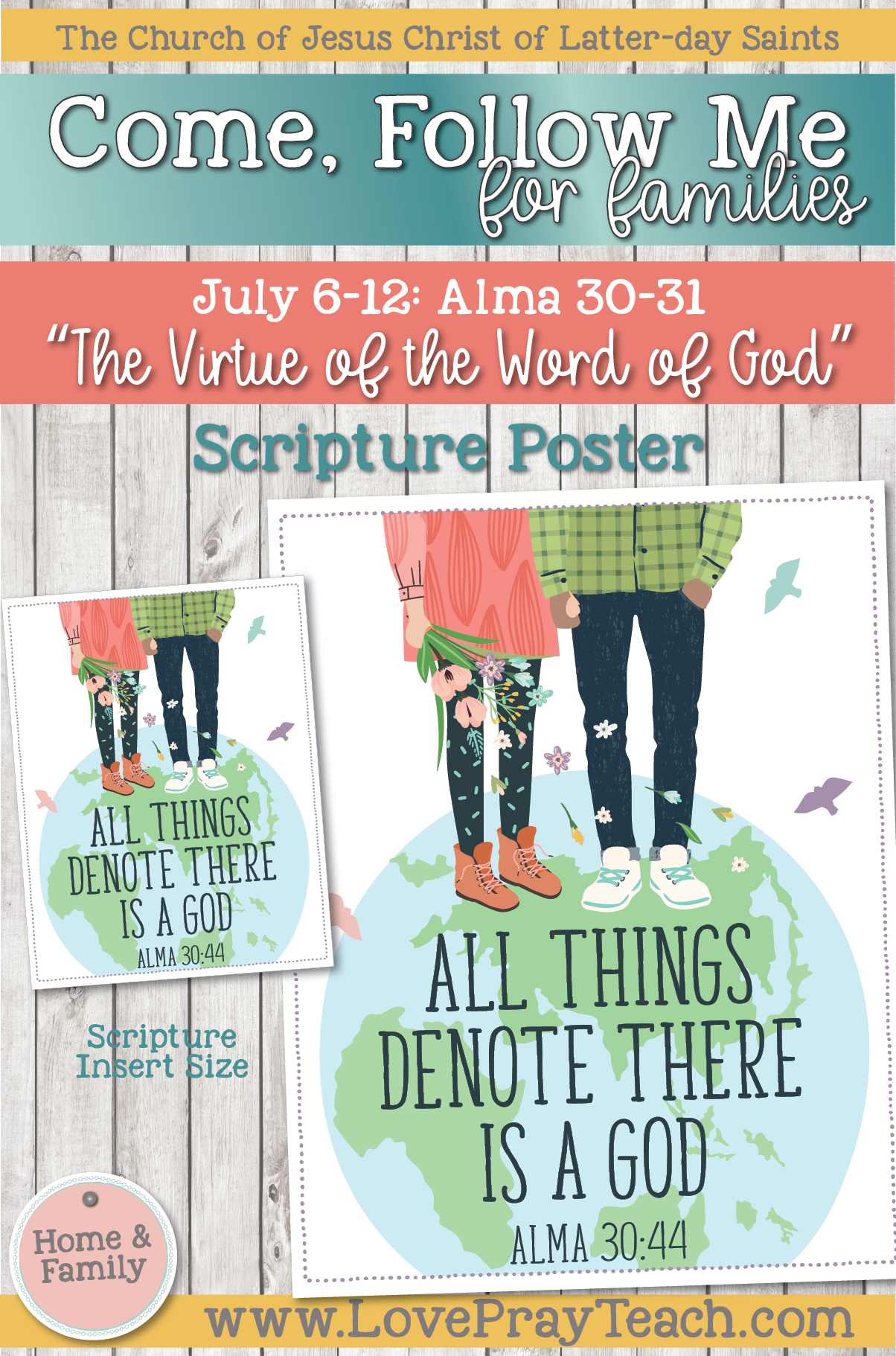 """Come, Follow Me—For Individuals and Families: Book of Mormon 2020 -July Week 2 -July 6-12 Alma 30-31 """"The Virtue of the Word of God"""""""