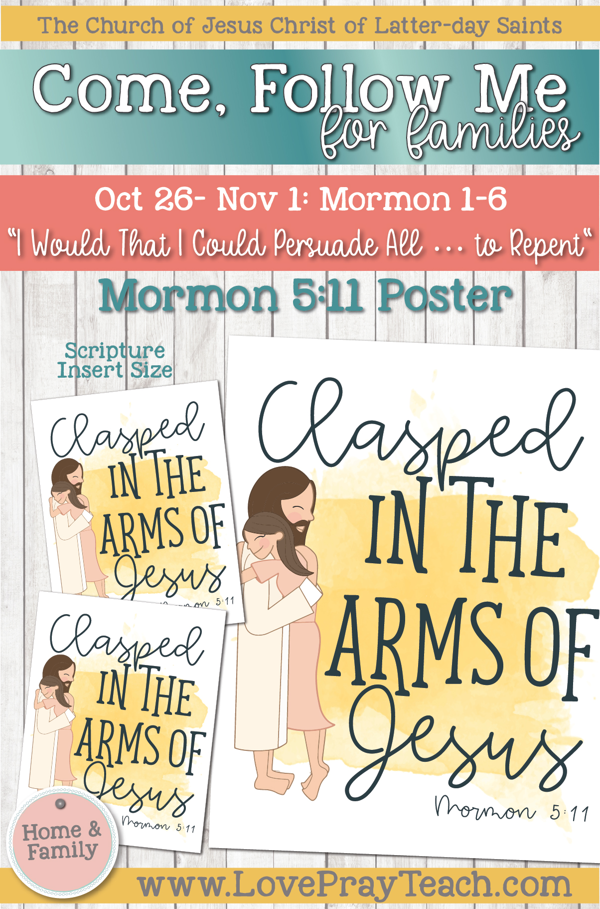 """Come, Follow Me—For Individuals and Families: Book of Mormon 2020 -November Week 1-October 26-November 1 Mormon 1-6 """"I Would That I Could Persuade All … to Repent"""""""