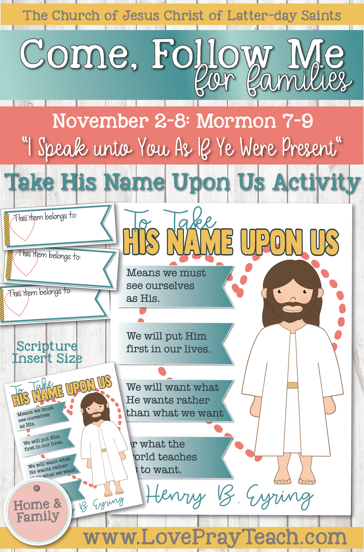 """Come, Follow Me—For Individuals and Families: Book of Mormon 2020 -November Week 2-November 2-8, Mormon 7-9 """"I Speak unto You As If Ye Were Present"""""""