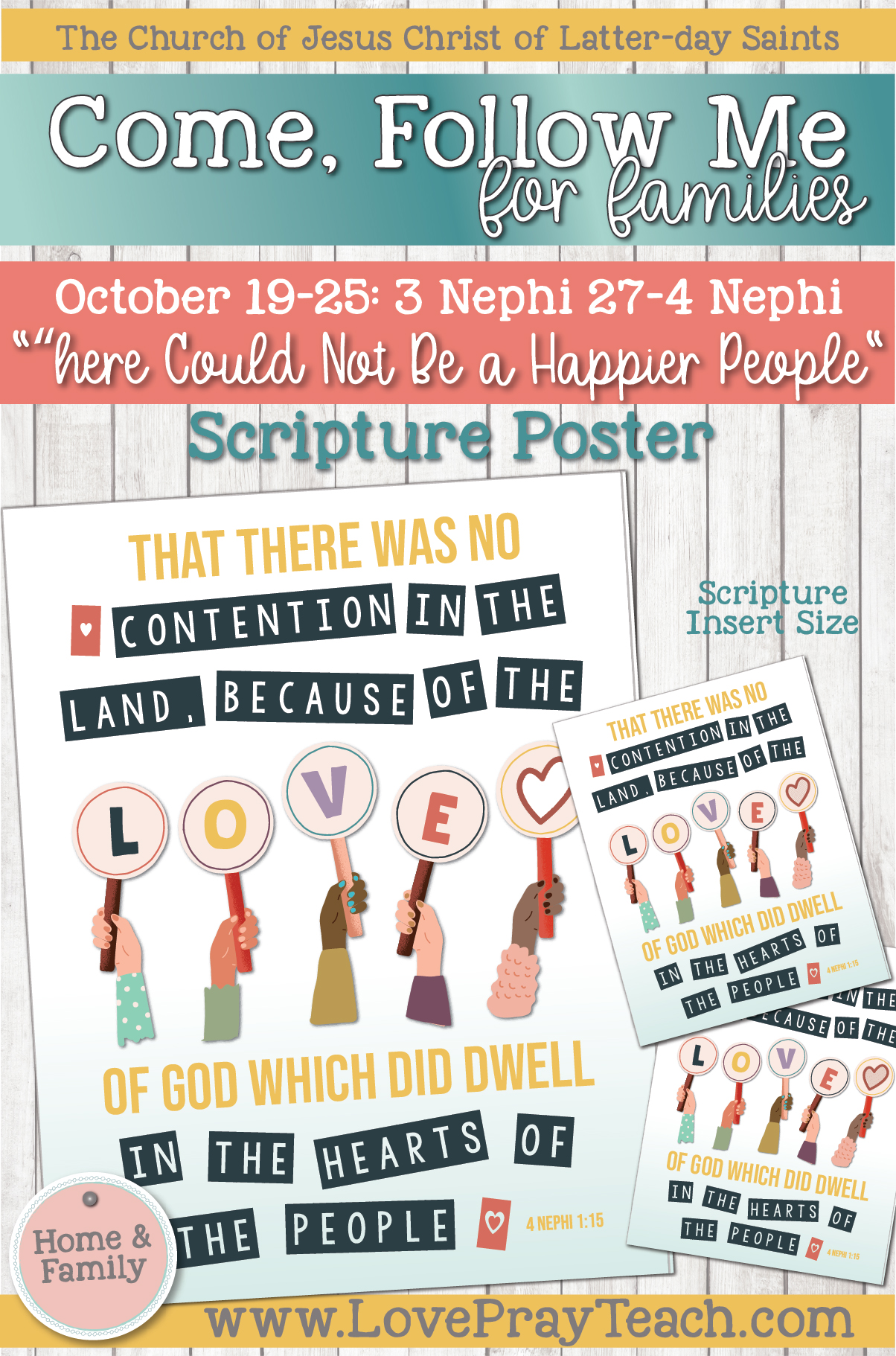 "Come, Follow Me—For Individuals and Families: Book of Mormon 2020 -October Week 4-October 19-25 3 Nephi 25-4 Nephi ""There Could Not Be a Happier People"""