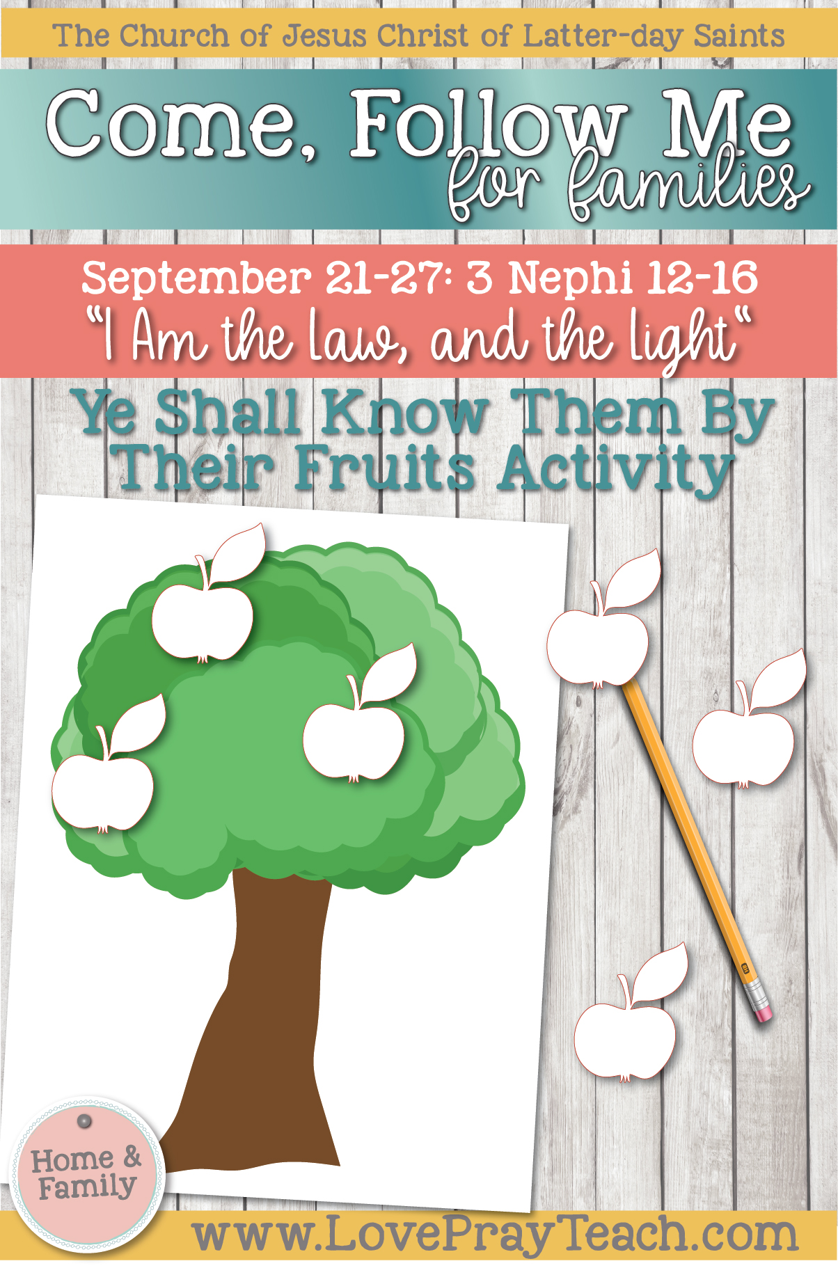 """Come, Follow Me—For Individuals and Families: Book of Mormon 2020 -September Week 4 - September 21-27 3 Nephi 12-16 """"I Am the Law, and the Light"""""""