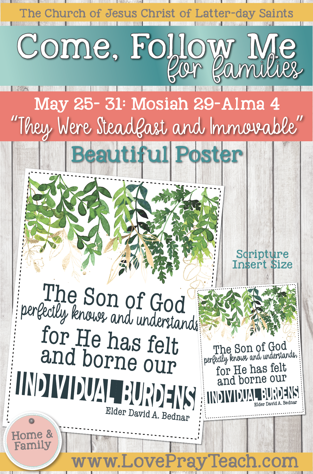 """Come, Follow Me—For Individuals and Families: Book of Mormon 2020 -June Week 1 -june 1– 7 Alma 5-7""""Have Ye Experienced This Mighty Change in Your Hearts?"""""""